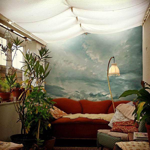 Gaedke Tapeten - Fototapete mit Wolken