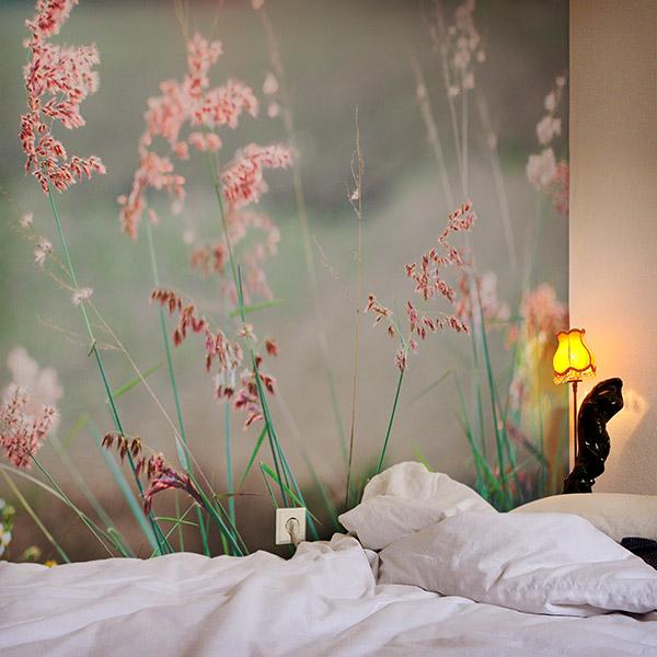 schlafzimmer mit fototapete inspiration. Black Bedroom Furniture Sets. Home Design Ideas