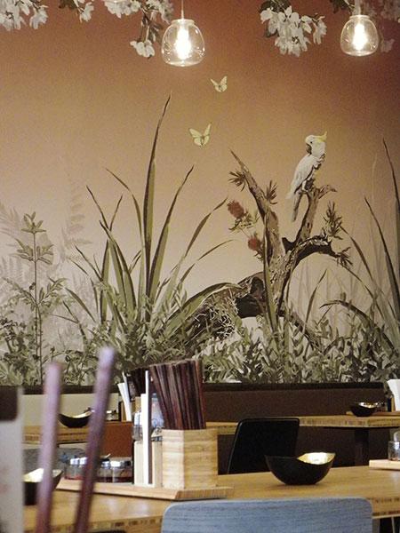 gaedke tapeten panorama tapete dschungel. Black Bedroom Furniture Sets. Home Design Ideas
